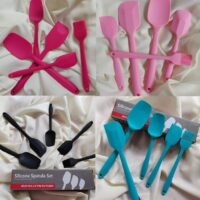 Silicon spatula Set of 5pcs