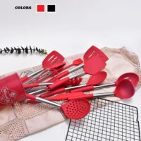Non stick stainless steel utensil set 13 Pcs