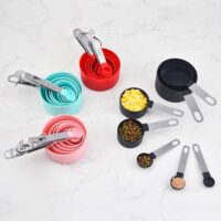 Silicone Baking measuring cup and spoon