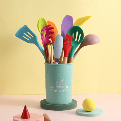 Colorful Silicone Kitchen Utensil 12pcs