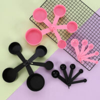 Plastic Measuring Cups and Spoons Set